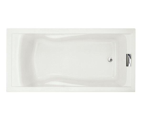 Evolution 72 x 36 Deep Drop-in Alcove Soaking Bathtub by American Standard