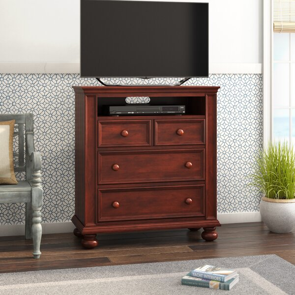 Marhill 3 Drawer Media Chest by Beachcrest Home