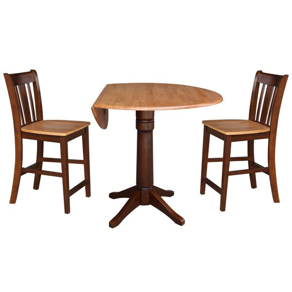 Attridge 3 Piece Pub Table Set by Alcott Hill