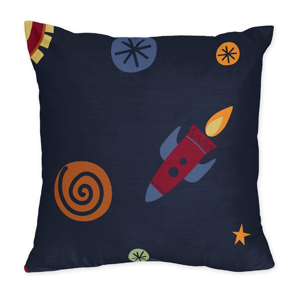 Space Galaxy Throw Pillow by Sweet Jojo Designs