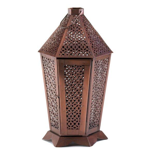 Signature Series Byzantine Metal Lantern by Malibu Creations