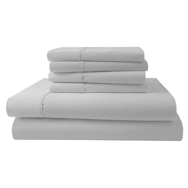 Park Ridge 4 Piece 1000 Thread Count Sheet Set by Elite Home Products