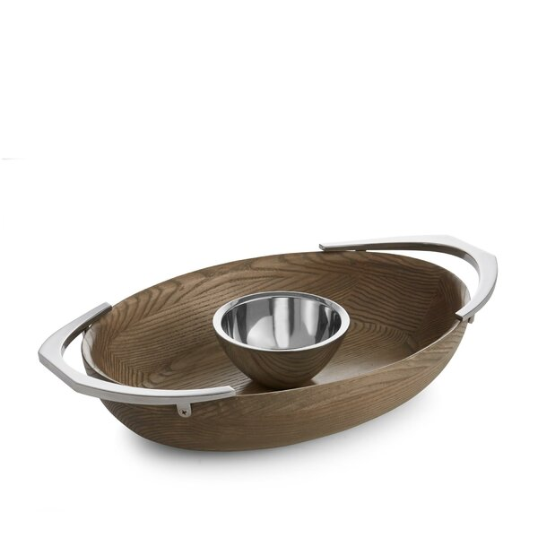 Cabo Chip and Dip Platter by Nambe