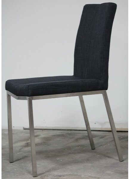 Carlucci Modern Dining Chair - Fabric (Set of 4) by Wrought Studio