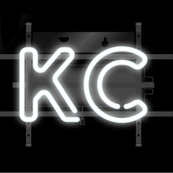 KC Neon Sign Wall Light by Easy, Tiger