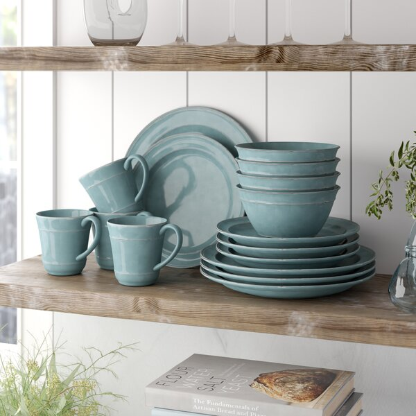 Artim 16 Piece Dinnerware Set, Service for 4 by Mint Pantry