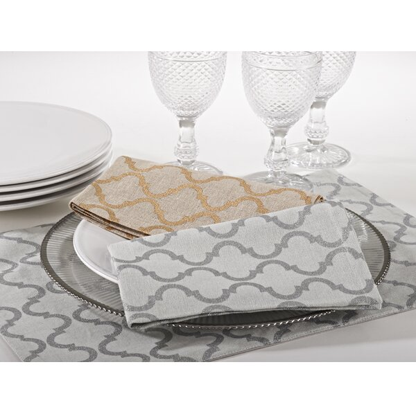 Dangerfield Printed Placemat (Set of 4) by Three Posts