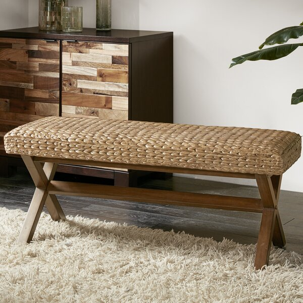 Wrexham Wood Bench by Bay Isle Home