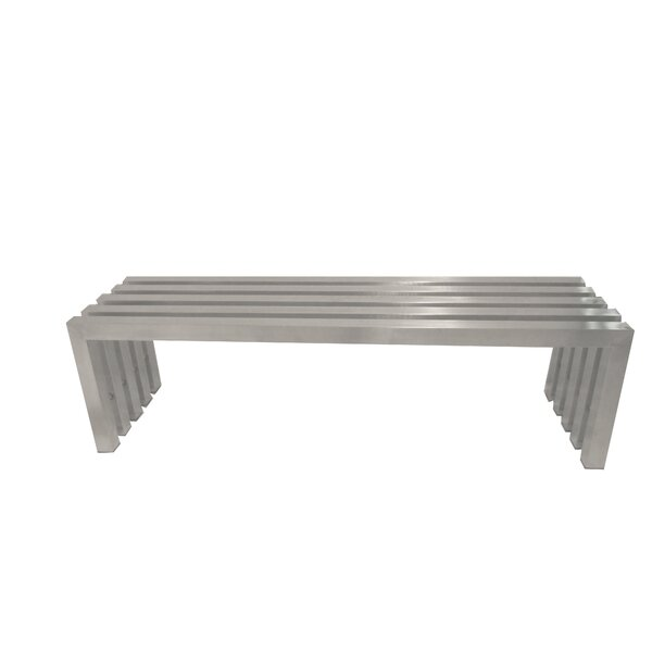Vlad Metal Bench by Comm Office