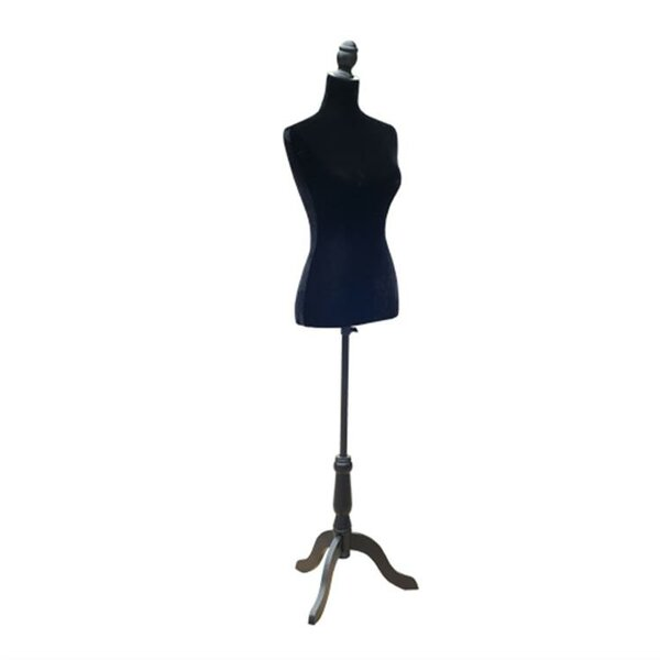 Harjo Fashion Mannequin Female Dress Form with Base by Rosdorf Park