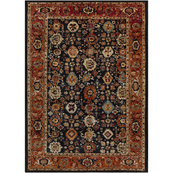 Brahim Multi-Colored Area Rug by World Menagerie