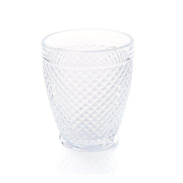Rohit 12 oz. Glass Every Day Glasses (Set of 6) by Latitude Run
