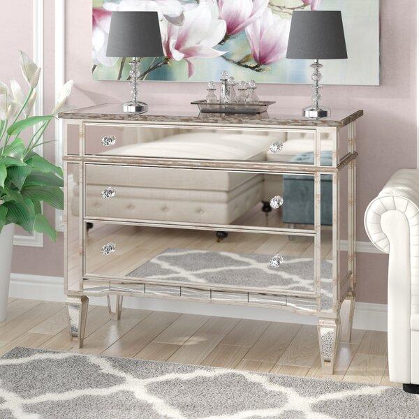 Bramer 3 Drawer Mirror Standard Dresser by Rosdorf Park