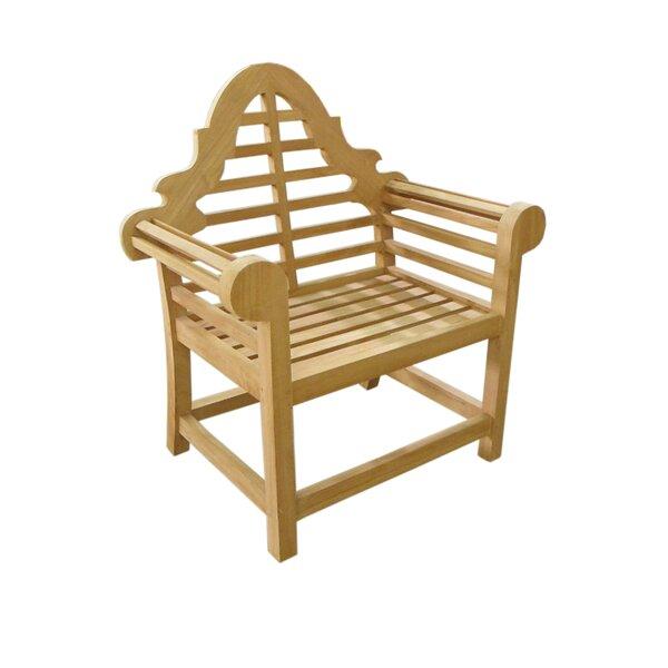 Lutyen Teak Patio Chair by D-Art Collection D-Art Collection