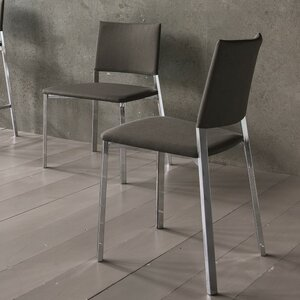 Kate Genuine Leather Upholstered Dining Chair (Set of 2) YumanMod