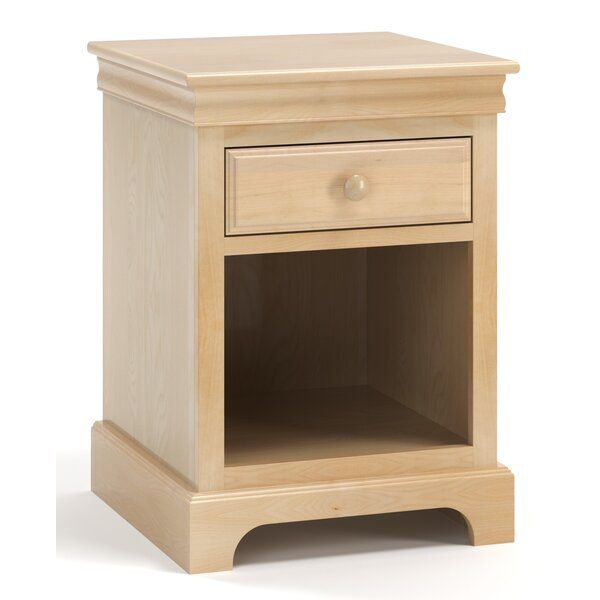 Finley 1 Drawer Nightstand by Harriet Bee