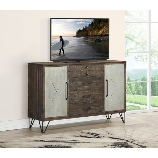 Wilkey TV Stand For TVs Up To 70