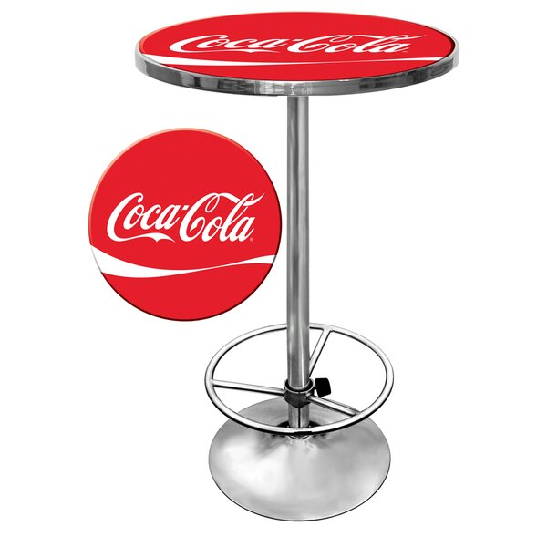 Coca Cola Pub Table by Trademark Global