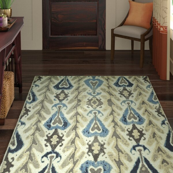 Callen Ivory Area Rug by World Menagerie