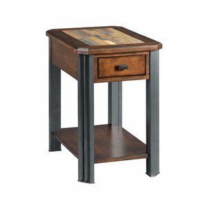 Comparison Juarez End Table with Storage By Union Rustic