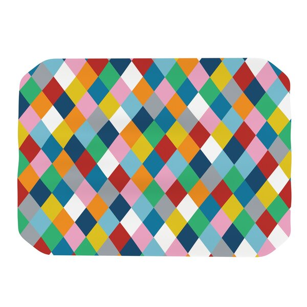 Harlequin Zoom Placemat by KESS InHouse