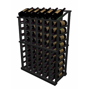 Designer Series 66 Bottle Floor Wine Rack By Wine Cellar Innovations