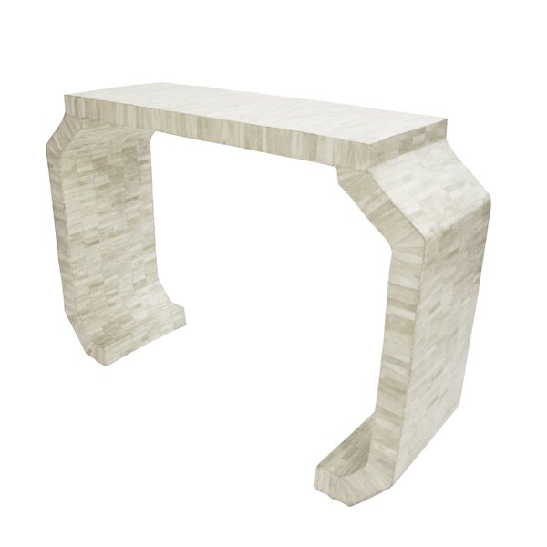 Bone Console Table By Worlds Away