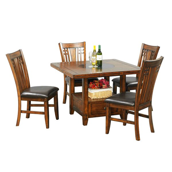 Schueller 5 Piece Extendable Dining Set by Darby Home Co Darby Home Co