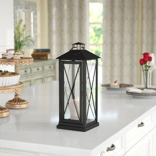 Iron Lantern By Darby Home Co Outdoor Lighting