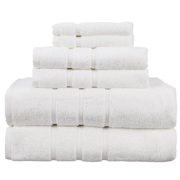 Bottorff Turkish 6 Piece Cotton Towel Set by Winston Porter