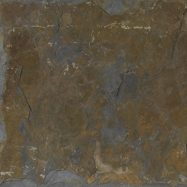 California 24'' x 24'' Slate Field Tile in Multi by MSI