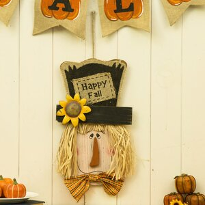 Scarecrow Head Wall Decor