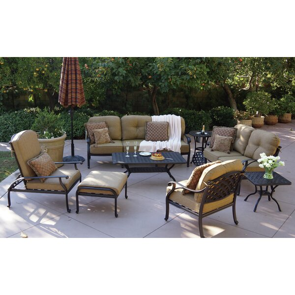Lincolnville 8 Piece Sofa Set with Cushions by Fleur De Lis Living