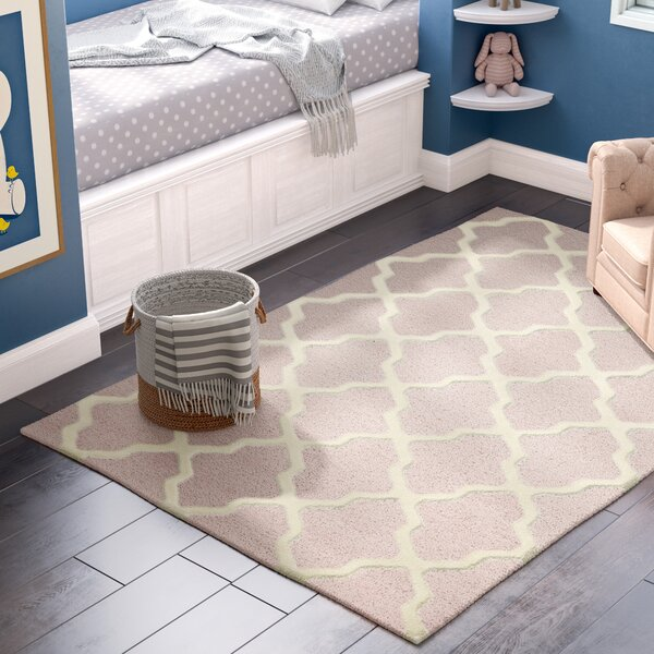 Light Pink/Ivory Area Rug by Birch Lane™