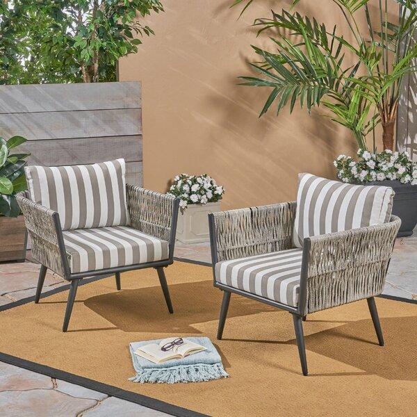 Giunta Patio Chair (Set Of 2) By Brayden Studio