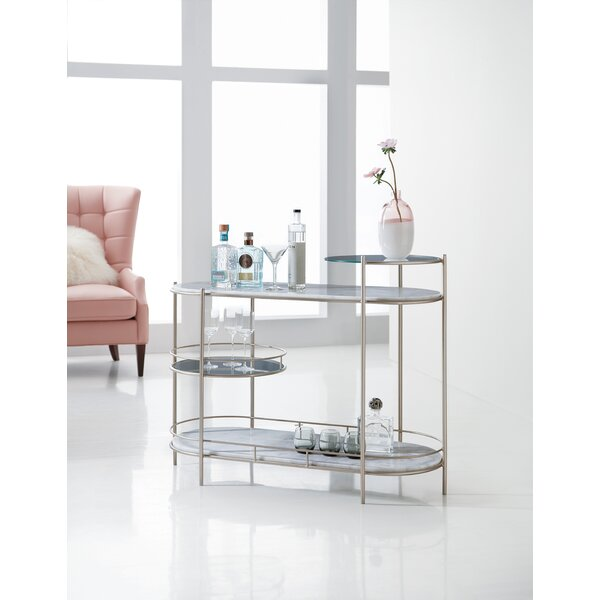 Melange Rooney Bar Cart by Hooker Furniture