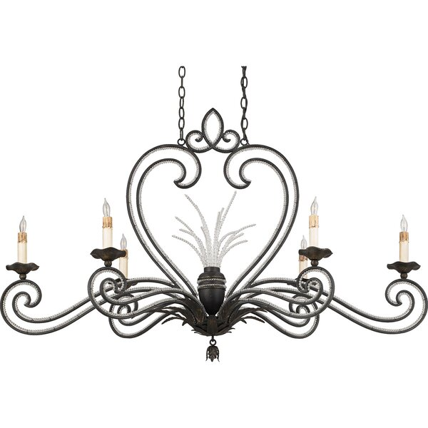 Allyson 6-Light Candle Style Chandelier by Bay Isle Home