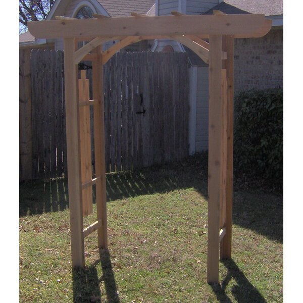 Country Cedar Wood Arbor by Threeman Products