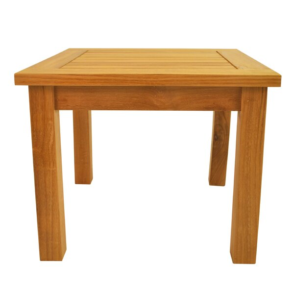 Farnam Solid Wood Side Table by Rosecliff Heights