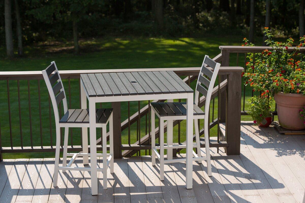 elan furniture elan furniture loft outdoor  x  bar table  - defaultname