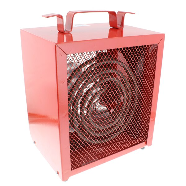 Portable 4800 Watt Electric Fan Utility Heater By Comfort Zone