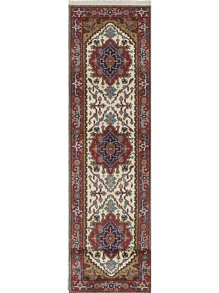 One-of-a-Kind Doerr Hand-Knotted Brown/Beige Area Rug by Isabelline