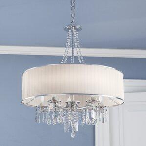 abel 5light drum chandelier