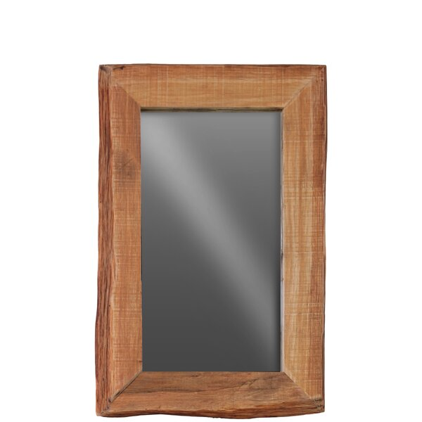 Live Edge Wood Wall Mirror by Urban Trends