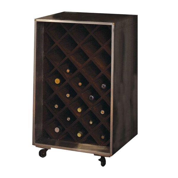 Mcaleer Slot Wooden Wine Bar Cart By Loon Peak®