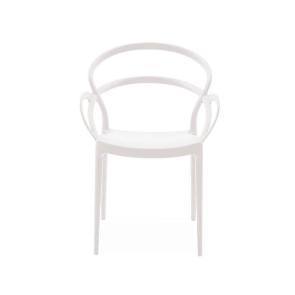 Tilda Stacking Patio Dining Chair (Set of 4) by Orren Ellis