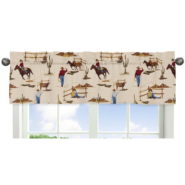 Wild West Cowboy 54 Window Valance by Sweet Jojo Designs