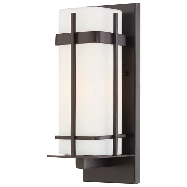 Sterling Heights 1-Light Outdoor Sconce by Great Outdoors by Minka