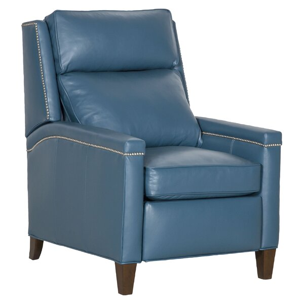 St. Andrews 3 Way Leather Manual Recliner By Fairfield Chair