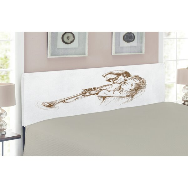 Music Queen Upholstered Panel Headboard by East Urban Home